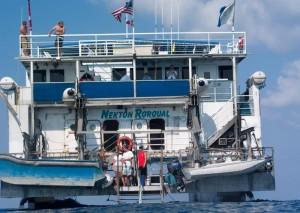 SWATH Dive Boat